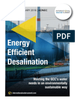 Energy Efficient Desalination 2018