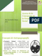 Acerca de la Concepción de la GeografÃ-a Social 2012