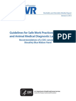 105 Guidelines for Safety in Human and Animal Med Dx Labs(1)