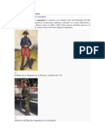 Historia Del Ejército Argentino