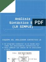 Analisis Sintactico SRL