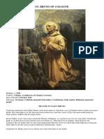 St. Bruno of Cologne