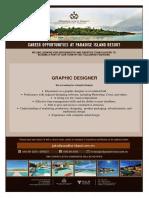 Graphic Designer Ad 20th Oct