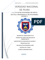 Informe n04 Perdida de Carga Por Friccion en Tuberia Recta