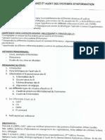 UE 1.7 Gouvernance Et Audit Des Systèmes d'Information (I.a.E Bordeaux M 2 DFCGAI) / COURS COMPLET I.A.E Bordeaux