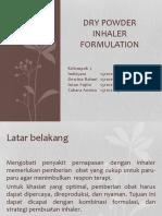 Dry Powder Inhaler Formulation.pptx