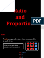(7) Ratio and Proportion