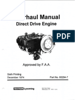 Direct Drive Engine Overhaul Manual 60294-7-13