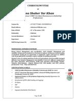 Preventive Maintenance Engineer(CMRP)