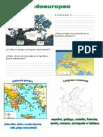 1º Griego y Latín Indoeuropeo, Dialectos y Lenguas Romances