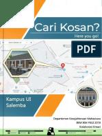 Booklet Kost Ui Salemba 2018