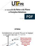 Estudo Da Reta e Do Plano
