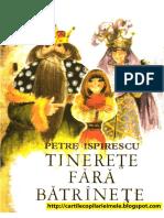 TINERETE FARA BATRINETE - Petre Ispirescu (1977).pdf