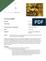 Cuscuta Dodder materia medica herbs