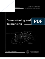 Asme_y145m-1994 Engineering Drawing Dimension Ing and Tolerancing