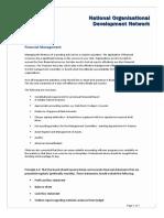 Fact Sheet - Financial Management