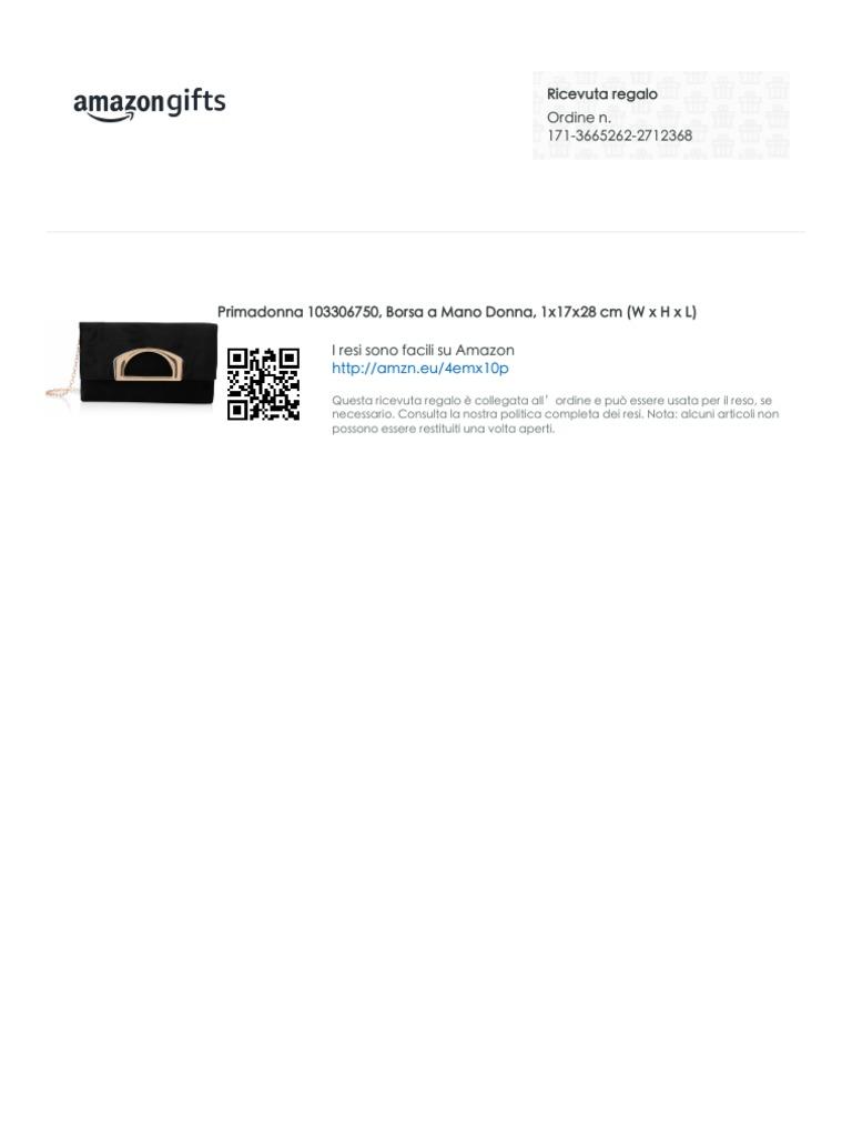 Valigeria Borse 1x17x28 cm Borsa a Mano Donna Primadonna