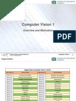 Computer Vision 1