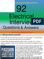 92 Electrical Interview Questions and Answers.pdf