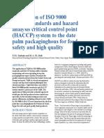 HACCP summary