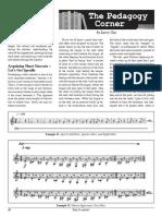 Clarinet Articulacion