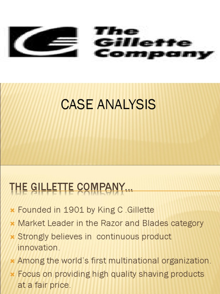 when was gillette founded