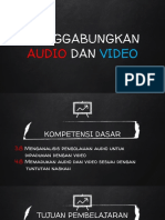 PPT MENGGABUNGKAN AUDIO DAN VIDEO