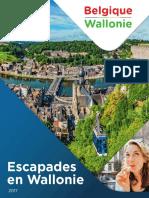 Escapades en Wallonie 2017