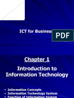 ICT for Business (BBC04) - Slides