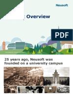 Neusoft Overview (English Version)