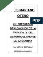 Mariano Otero, un precursor desconocido de la aviación argentina