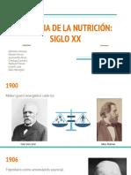 Historia de La Nutrición_ Siglo Xx