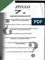 Capítulo 7- Enseñar pronunciación. En ¿Cómo ser profesor a