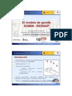 4_El Modelo de Geoide EGM08_REDNAP