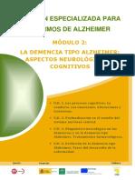 Módulo 2. La demencia tipo alzheimer . Aspectos neurológicos y cognitivos.pdf