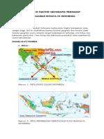 Rev Pengaruh Faktor Geografis Terhadap Keragaman Budaya Di Indonesia (Dhani Maria)
