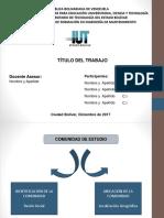 Estructura de Diapositivas Para La Presentación de PSI 1