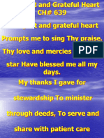 A Diligent And Grateful Heart-Z.ppt