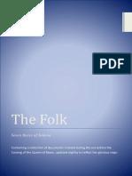 The Folk - Seven Races of Sedena