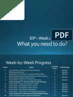 Manual for IDP - Week 1 to Week 4 r3