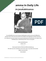 Abhidhamma in Daily Life by Ashin Janakabhivamsa