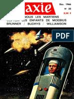 [Galaxie 32 Decembre 1966] - (1966)