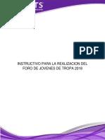 1. Pueblo Libre Del Seonee. 2018. Instructivo