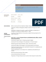 Free Resume CV.doc