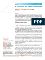 Enzymes Brewing