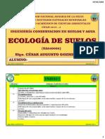 Ecologia de Suelos 2018-2 Clases Separatas