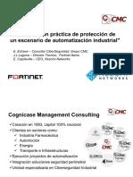 2. Demostración Práctica de Protección de Un Escenario de Automatización Industrial CMC-ForTINET-NOZOMI