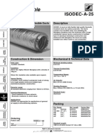 Double Wall Insulated Flexible Duct ISODEC a 25 - SAFIDFLE