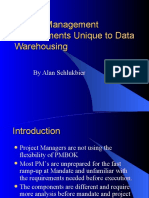 Project Management Requirements Unique to Data Warehousing 2