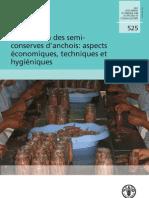 Élaboration des semi-conserves d'anchois aspects économiques